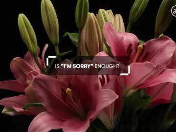 """Is """"I'm Sorry"""" really enough?"""