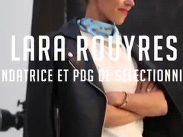 Lara Rouyres – Fondatrice   PDG, Selectionnist