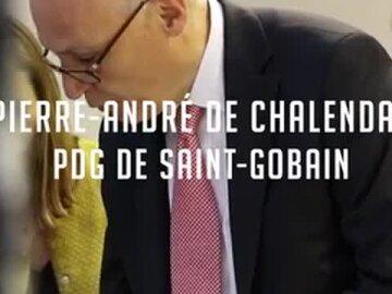 Pierre-André de Chalendar – PDG, Groupe Saint-Gobain