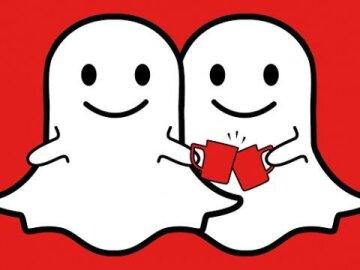 Logo Snapchat pour Nescafé