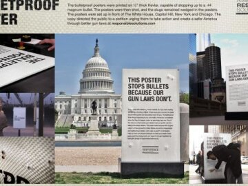 Bullet proof posters