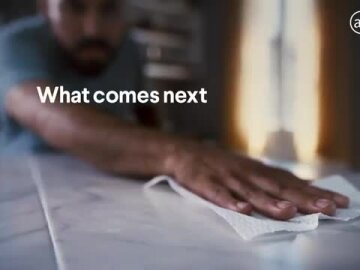 A Clean Kitchen is the Beginning. - Clorox Commercial – What comes next is everything.