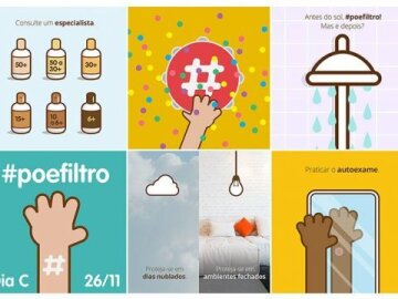 #Poefiltro - Spreading a hashtag against cancer.