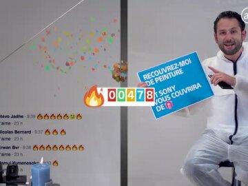 Premier Facebook Live en Super slow motion !