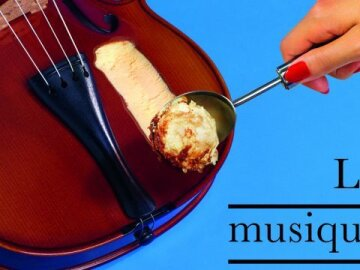 Violon-Ice Cream (French)