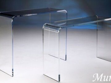 Acrylic Waterfall Tables - Made in USA