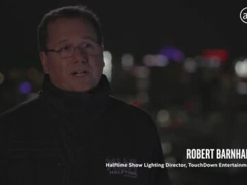 Intel Drones x Super Bowl Halftime Show