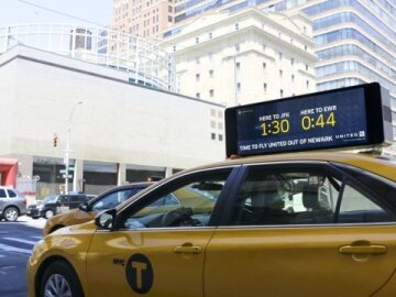 Real- Time Taxi Display