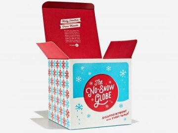 No-Snow Globe (package)