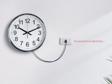 As Powerful as Electricity: Clock