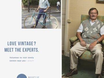 Société de Saint Vincent de PaulVintage experts - second-hand shop CLM BBDO / December 2016