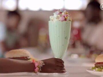 Burger and Shake Combo