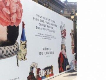 Hotel du Louvre Rebranding 2
