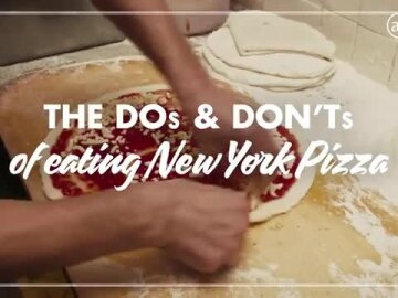 JetBlue The DOs and DONTs of Eating New York Pizza with Spike Lee