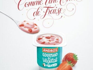Vegetable become gourmand:Fraise