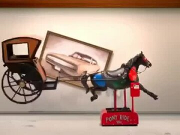 We're all a little British: Horse and carriage