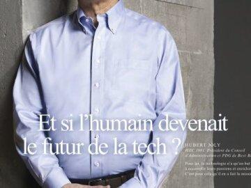 Et si l'humain devenait le futur de la tech ?