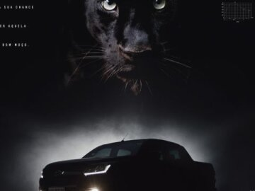 Chevrolet S10 Midnight - The New Creature of The Night - Print 1