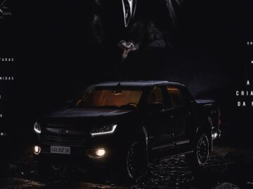 Chevrolet S10 Midnight - The New Creature of The Night - Print 3