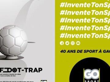 40 ans de Go Sport : Le Foot-Trap