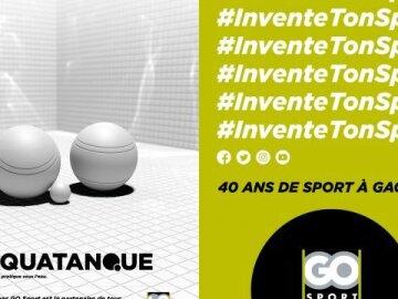 40 ans de Go Sport : L'Aquatanque