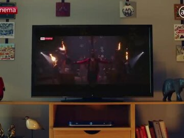 Sky Cinema Christmas Ad 2018