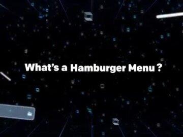 Hamburger Menu Takeover
