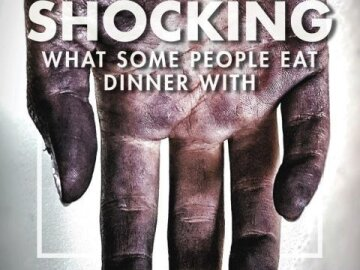 It's shocking what some people have for dinner 3
