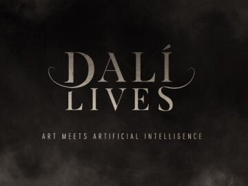 Dali Lives Title Card