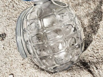 Plastic Hand Grenade