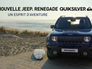 JEEP - Renegade Quiksilver edition
