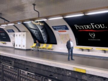LA TRACE - Puy du Fou - agence LES GROS MOTS