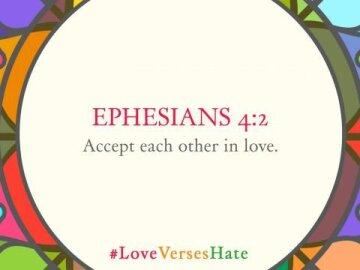Love Verses Hate