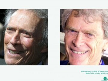 #lookalikejoelapompe 3 - Clint Eastwood vs Sir John Hegarty