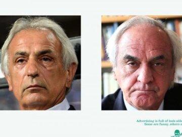 #lookalikejoelapompe 6 -Vahid Halilhodzic vs Jean-Marie Dru