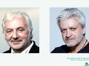 #lookalikejoelapompe 10 - Franck Provost vs Stéphane Xiberras