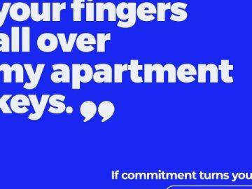 L'engagement n'a jamais été aussi sexy. (3)