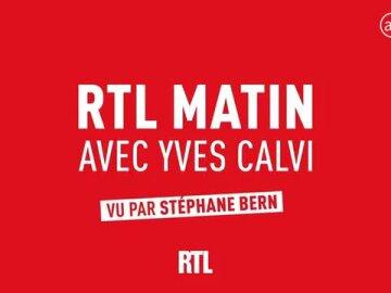 RTL Matin de Yves Calvi vu par Stéphane Bern