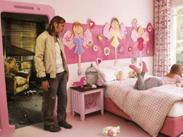 Think before you friend: Pink room