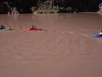 5 Blind Veterans Kayak the Grand Canyon