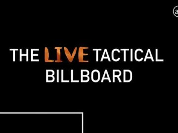 The LIVE Tactical Billboards