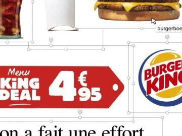 Menu King Deal 4,95€