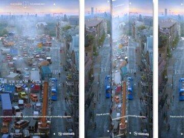 Traffic Folding Ad