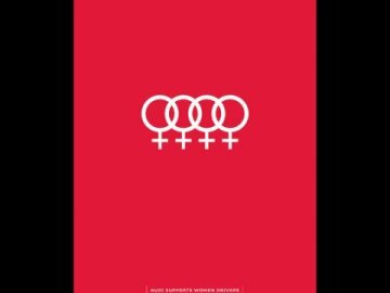 Audi Supports Women Drivers