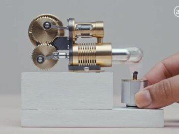 Miniature Science #3: Algae-Fueled Engines