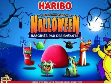 Les terrifiants bonbons d'Halloween