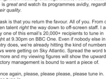 Alan Partridge Email Stunt