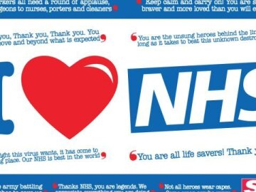 The Sun: Support Our NHS