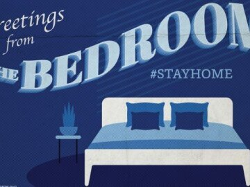 """Greetings From Home: """"Bedroom"""""""