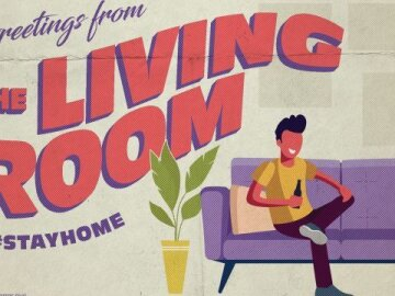 """Greetings From Home: """"Living Room 1"""""""